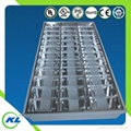 led grille panel fixture for t8 tube
