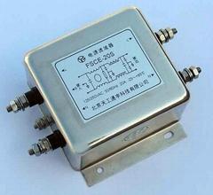 E封裝差模增強交流電源濾波器