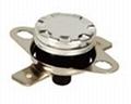 KSD301 bimetal manual reset thermostat
