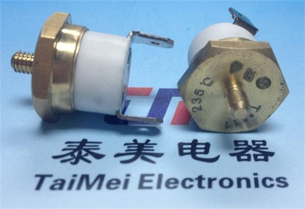 Temperature Limiter Electric Ceramics Auto-Reset Thermostat Washing Machines 1