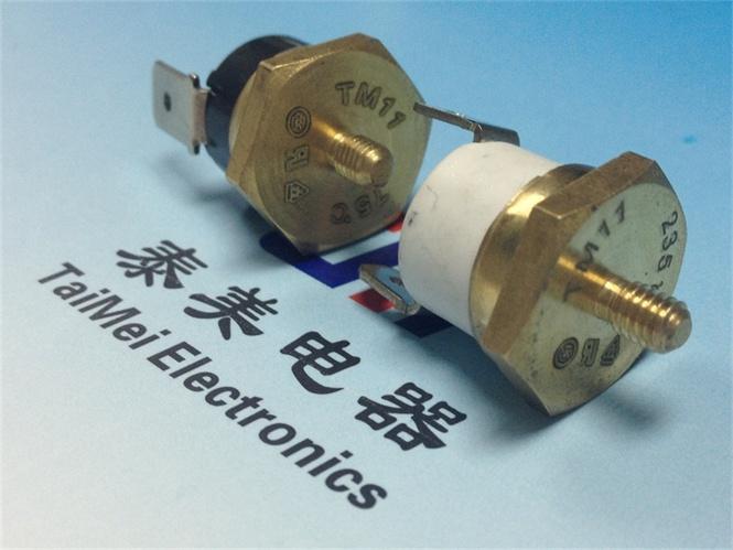 Temperature Limiter Electric Ceramics Auto-Reset Thermostat Washing Machines 6