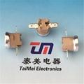 Bimetal Bent Terminal Momentary KSD301