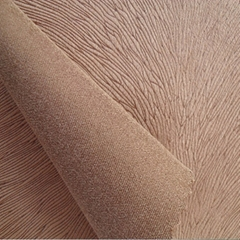 Suede Fabric 100% Polyester Warp Knitted