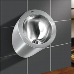 Stainless steel Wall Mounted Stainless Steel Urinals