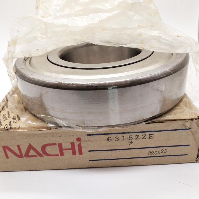 NACHI 6315 75x160x37mm Deep Groove Ball Bearing 6315ZZE