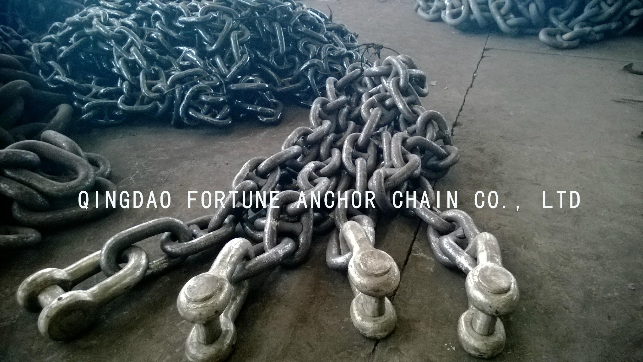 Stainless steel mooring chain