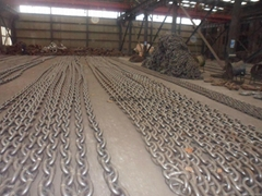 Marine anchor chain with IACS cert