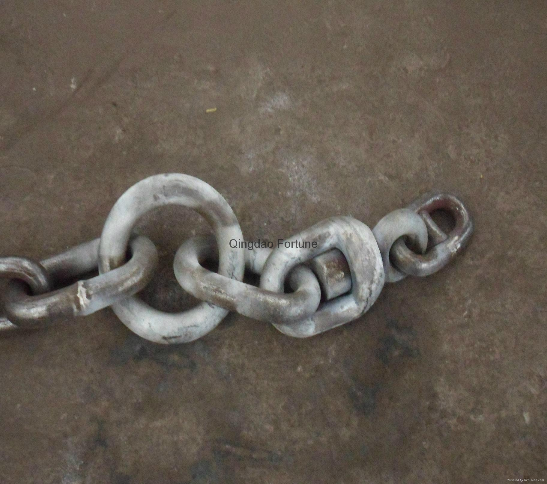 Shackle and chain assembly 2