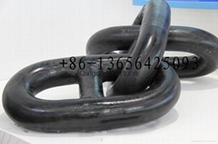 Marine use stud link anchor chain cable