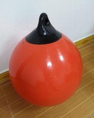 Inflatable float buoy