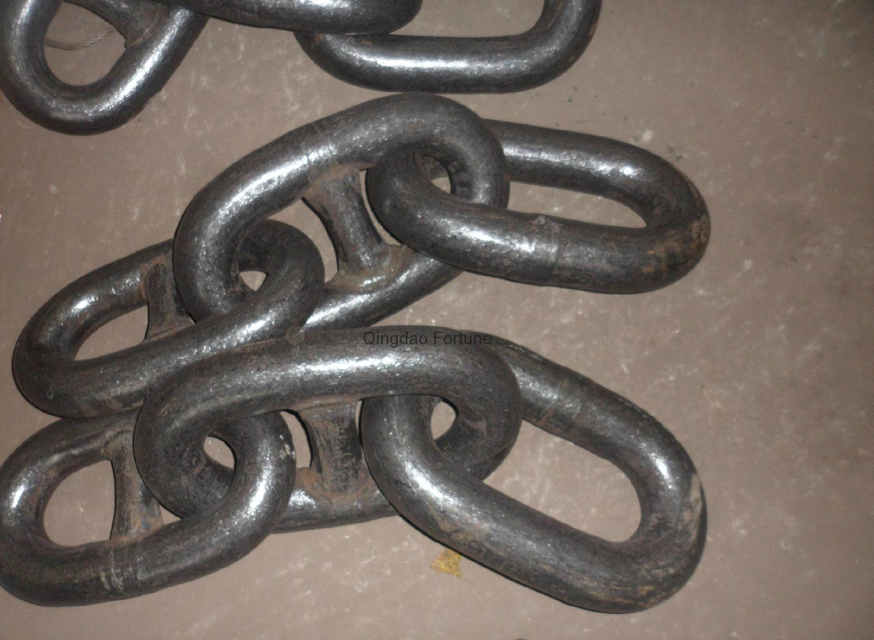 Grade U1/U2/U3 stud link anchor chain with certificate 3