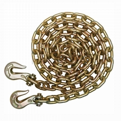 Lashing chain with hook