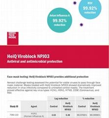 HeiQ Viroblock NPJ03 面料抗病毒抗菌整理剂