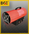 30kw manual type gas hot air heaters