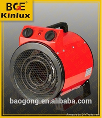 fan forced electric heater industrial