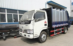Dongfeng XDLK 4*2 compressor garbage truck