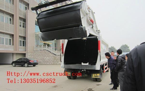 Dongfeng Duolika 4x2 Compression Garbage Truck 1