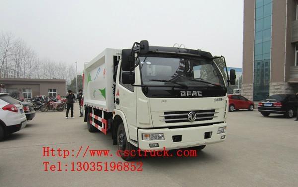 Dongfeng Duolika 4x2 Compression Garbage Truck 2