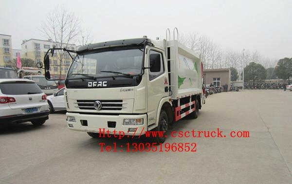Dongfeng Duolika 4x2 Compression Garbage Truck 3