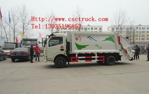 Dongfeng Duolika 4x2 Compression Garbage Truck 4