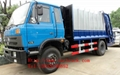 Dongfeng 4*2 compressor garbage truck 1