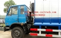 Dongfeng 4*2 compressor garbage truck 4