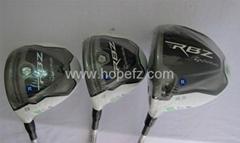 Taylormade RBZ fairway wood golf club left hand 2012 RocketBallZ with headcover