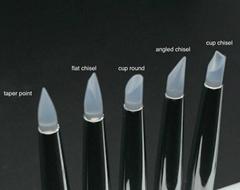 Eeesa 5Pcs Nail Art Silicone Tools Sculpture Pen for Carving Craft Polish Nail