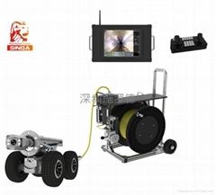 管道高清晰cctv內窺檢測機器人