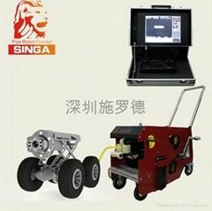 管道高清智能CCTV检测机器人