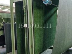 圍牆仿真草坪,圍牆仿真草皮,安平縣聚澳絲網制品有限公司