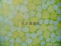 無紡樹葉牆紙