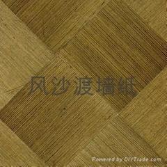 Natural sisal woven wallpaper