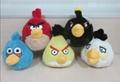 创意毛绒玩具 愤怒的小鸟