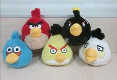創意毛絨玩具 憤怒的小鳥