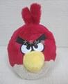 創意毛絨玩具 憤怒的小鳥 2
