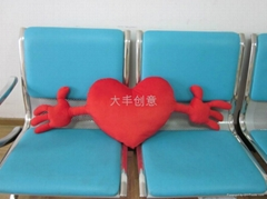 creative plush pillow  cartoon cushion valentine