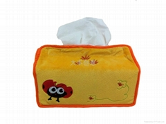 creative plush tissue box