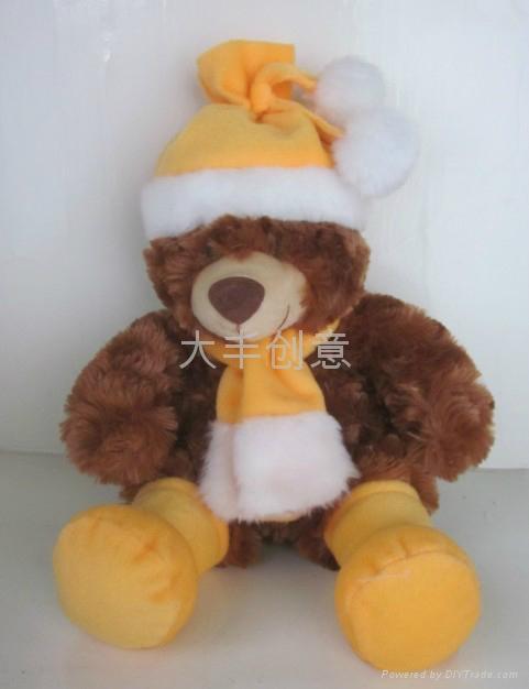 圣诞熊 多色 2