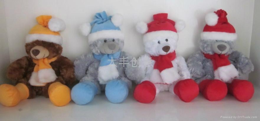 圣诞熊 多色 5