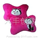 heat transfer car head pillow