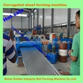 corrugated sheet plate roll forming
