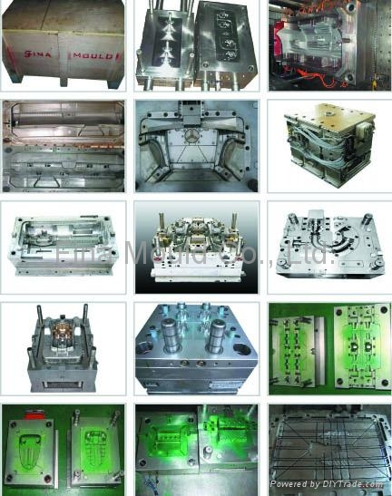 Plastic Mould / Injection Mould / Mould / Mold / Tool / Tooloing