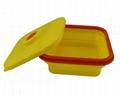 Silicone Collapsible Lunch Box Food