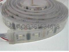 新品LED5050灌膠防水燈條