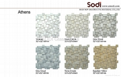 Stone mosaic marble tiles, Flooring and Covering, Decorative material