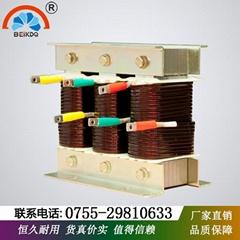 深圳貝殼生產輸入輸出電抗器三相交流380V壓降4%