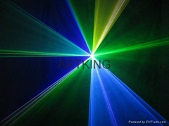1w rgb full color laser light