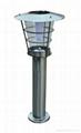 Stainless Steel LED Solar Garden Light