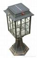 Decorative Cheap Solar Pole Light with